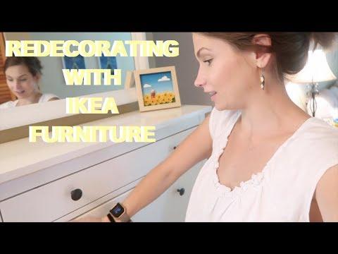 Assembling Ikea Furniture = Death. Homework Station Tour! Redecorating & Reorganizing!