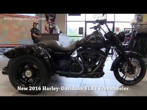 Blacked Out Harley Davidson 2016 Freewheeler Trike