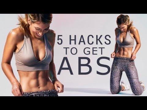 5 HACKS to Activate Your CORE & GET ABS