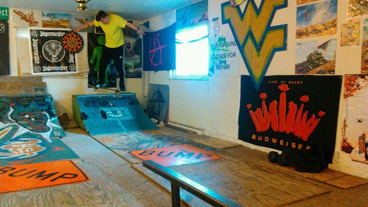 Skateboard Bedroom Living Room Skate Park At Wvu Youtube