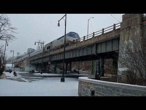 Empire Service in snow
