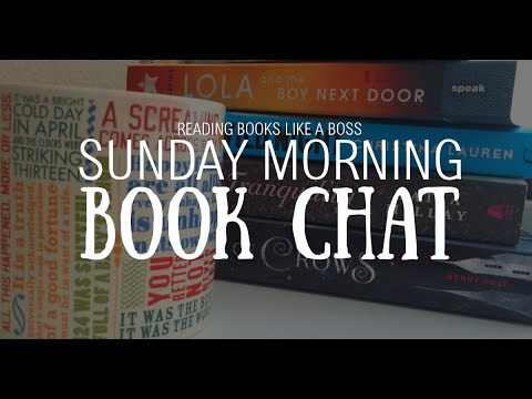 Sunday Morning Book Chat #1 — Top 10 Books in my Fall To-Read List