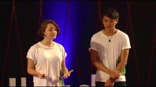 How used cooking oil powers a school bus in Bali | Kyla Langostky and Maxwell Hidajat | TEDxUbud