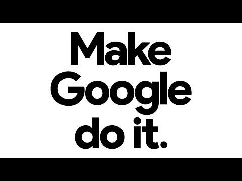 Hey Google: A Little Help?