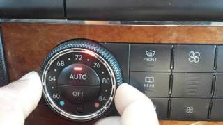 Mercedes W164 ML 350 problem with air condition buttons (Workaround) A2518707389