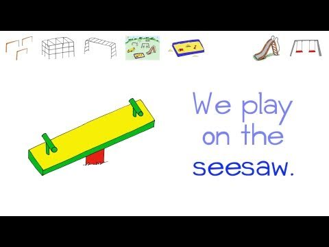 Playground Flashcards - Let's Play on the PLAYGROUND! by ELF Learning