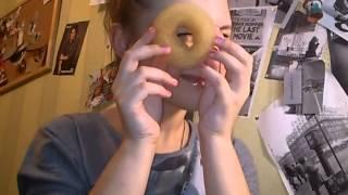 """Пучок с помощью резинки """"пончик"""""""