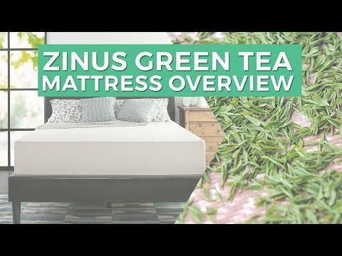Zinus Green Tea Mattress Overview