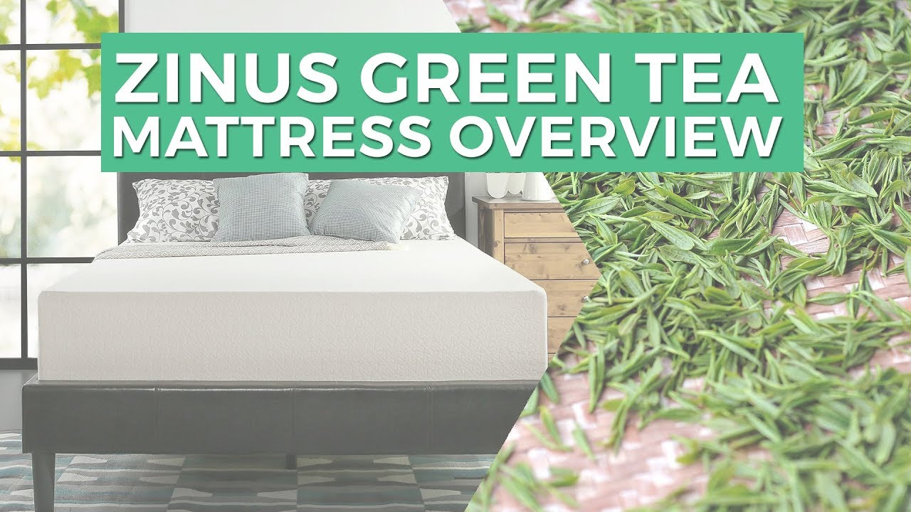 zinus green tea mattress overview