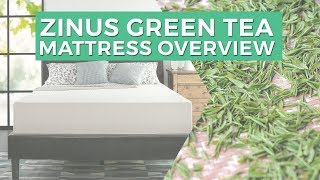 Zinus Green Tea Mattress Overview(This is an overview of the Zinus Green Tea mattress. It is infused with green tea which keeps the mattress fresh. This mattress took a bit longer to come into full ..., 2016-09-03T15:59:09.000Z)