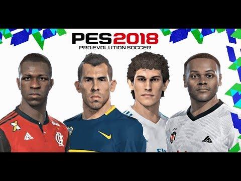 PES 2018 DLC 4.0 NOVOS JOGADORES E COMO TRANSFERIR JOGADORES thumbnail