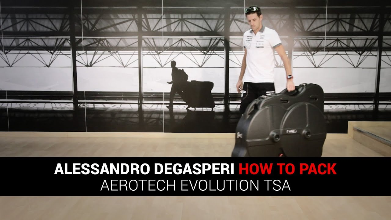 39705d81b8e5 Alessandro Degasperi - How to Pack Scicon AeroTech Evolution TSA Bike Case