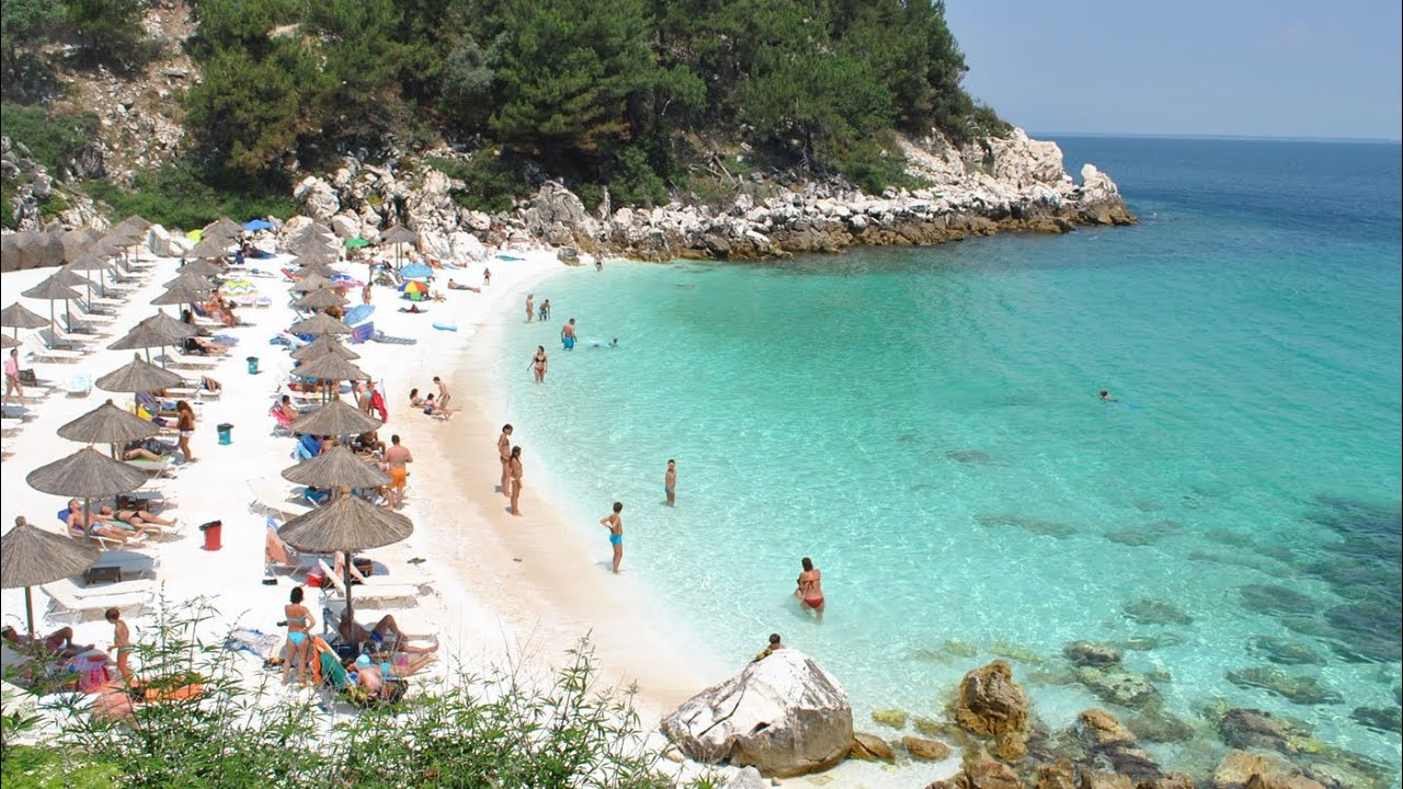 Best Island Beaches For Partying Mykonos St Barts: 35 Thasos Beaches Greece