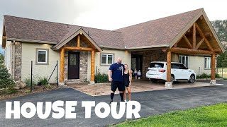 MY NEW MOUNTAIN HOME & GYM! | HOUSE TOUR