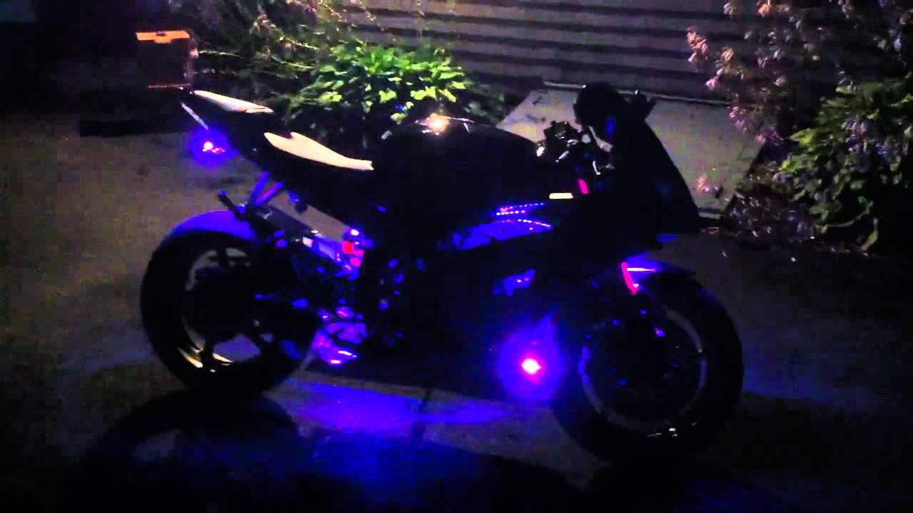2008 Yamaha R6 Headlight Wiring Diagram Peugeot Partner Led Light Kit Youtube