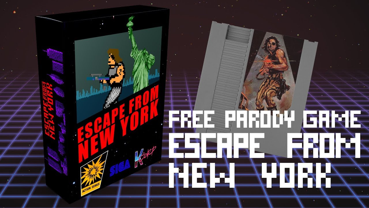 Escape From New York Pc Free Parody Video Game Trailer
