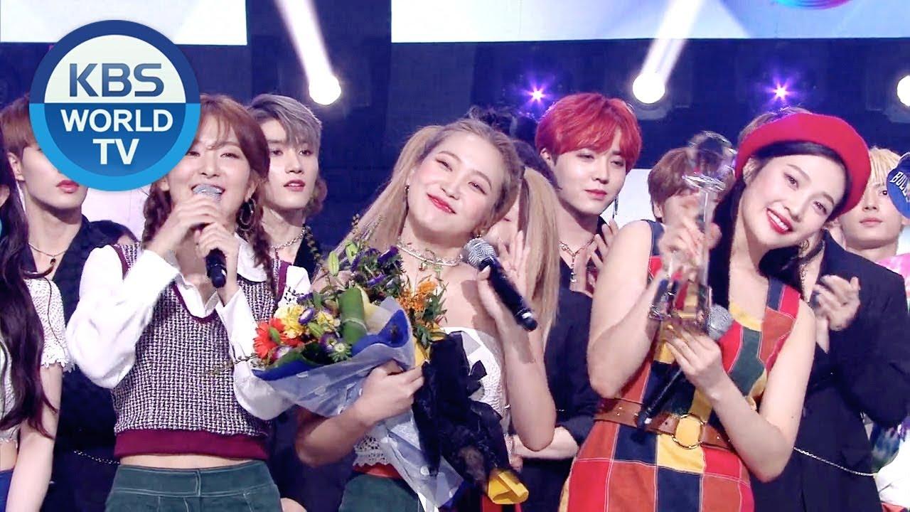 Winner's Ceremony: Red Velvet (레드벨벳) [Music Bank/2019 08 30]