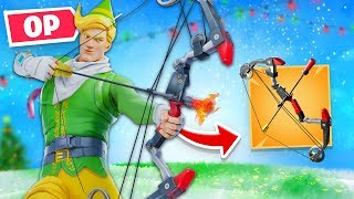 Fortnite UNVAULTED The MOST *OP* Weapon (Boom Bow)