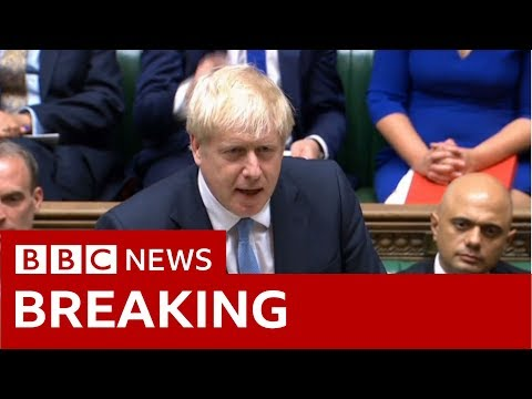Boris Johnson makes first Commons statement as PM - BBC News