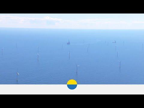 Offshore Windfarm DanTysk: Turbine Installation - Vattenfall