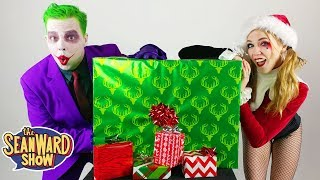Joker ASMR Christmas! Lego + Ultimate Justice League Batmobile