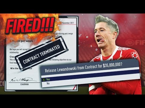 HOW FAST CAN YOU GET FIRED IN CAREER MODE!?! FIFA 18 (BAYERN MUNICH)