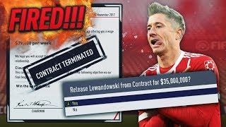 Gambar cover HOW FAST CAN YOU GET FIRED IN CAREER MODE!?! FIFA 18 (BAYERN MUNICH)