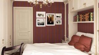 видео Дизайн маленькой спальни
