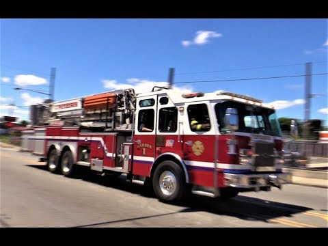 Paterson NJ Fire Department Various Apparatus Responding July 2017