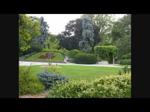 Queen Elizabeth II Gardens part of Jackson Park in Windsor, Ontario