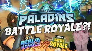 PALADINS BATTLE ROYALE?!? RIP FORTNITE? - Realm Royale ITA