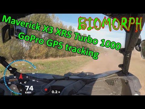 Maverick X3 XRS Turbo 1000 | GoPro GPS tracking | Baggerpark Emsland 20.10.2018