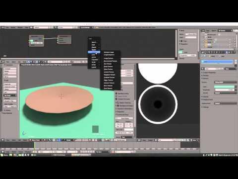 Blender cycle bake 2 texture AO et bake 2 objets vers une texture