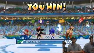 Ice Hockey math - Epic Gamers: Mario and Sonic at the Olympic Games