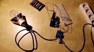 Allumer une lampe à distance grâce a une arduino et un relais 5v