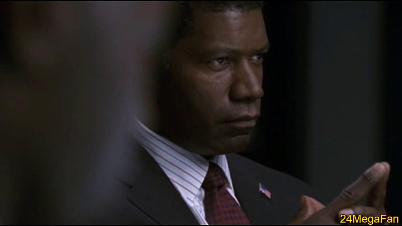 President Palmer learns about the Undercover Salazar Operation - 24 Season 3 image