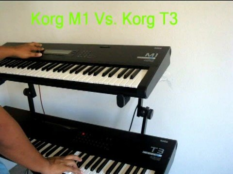 Does the Korg 01/WFD have the same sounds from the M1