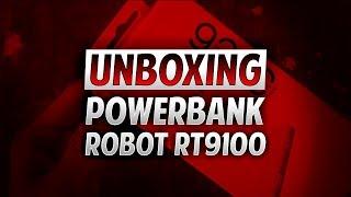 Powerbank Robot RT9100 Unboxing
