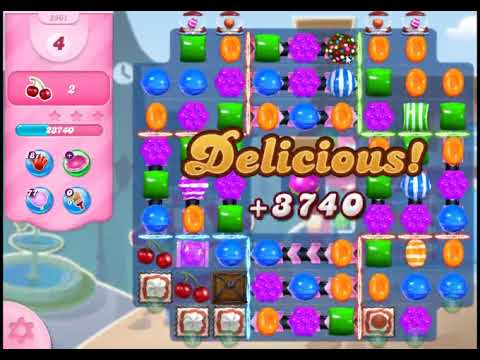 Candy Crush Saga Level 2961 - NO BOOSTERS