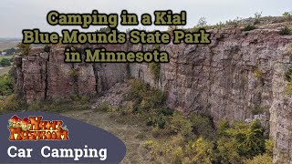Camping in a Kia! - BĮue Mounds State Park in Minnesota - S1:E7