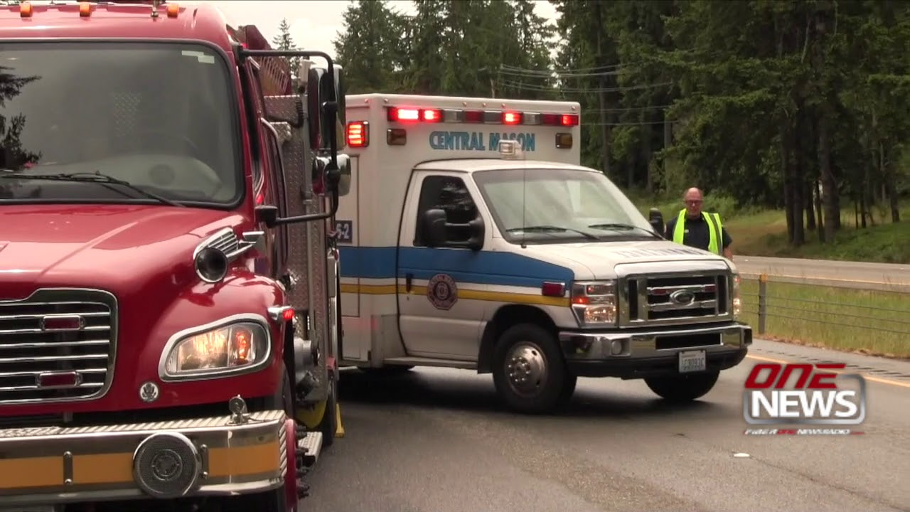 3 injured in rollover crash on 101 south of Shelton