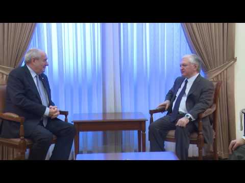 Minister of Foreign Affairs of Armenia received the Deputy Minister of Foreign Affairs of Greece