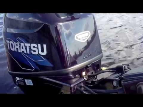 30 hp Tohatsu 4-stroke (break in)