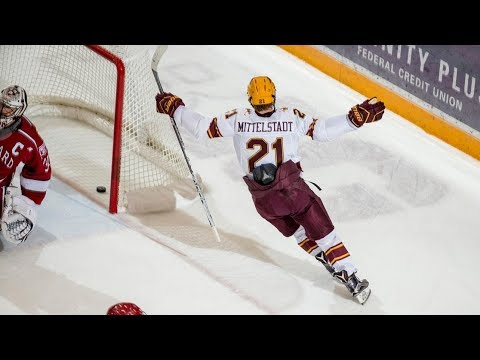College Hockey Frozen Four Hype 2018