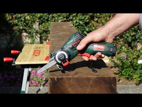 Cordless SAW Bosch EasyCUT 12 Li Test