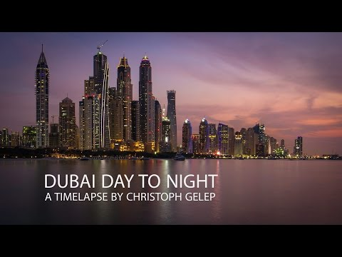 Dubai Day to Night - Timelapse / Hyperlapse