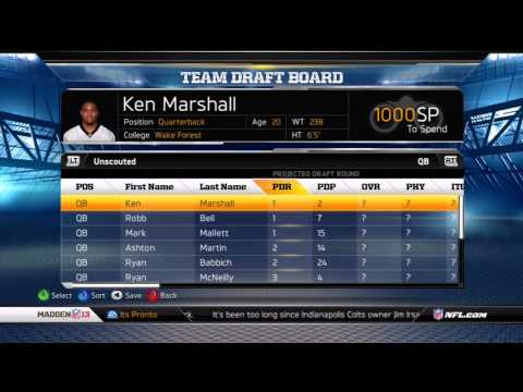 Madden NFL 13: Franchise Mode Complete Walkthrough | Connected Careers | New Features, Offseason