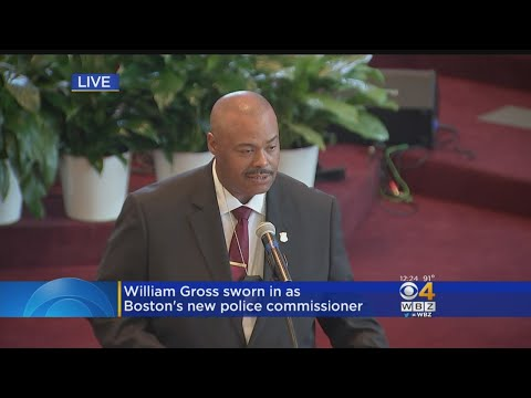 Special Report: Boston Police Commisioner William Gross Speech After Swearing In