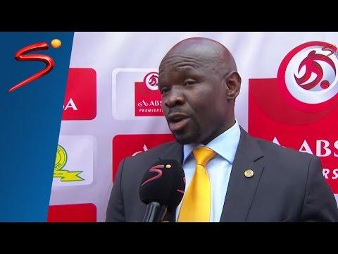 Steve Khompela interview - Mamelodi Sundowns vs Kaizer Chiefs