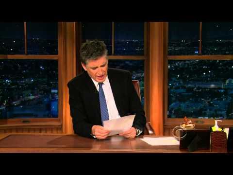 Late Late Show with Craig Ferguson 1/20/2010 Keri Russell, Jake Johannsen